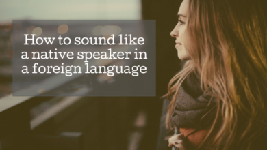 Photo of How to Sound More Like a Native Speaker