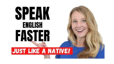Photo of ?How to speak English faster